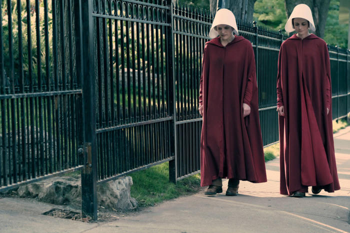 The Handmaid's Tale red coats