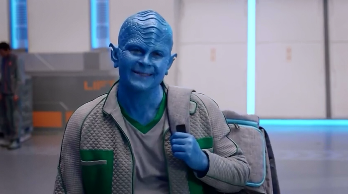 Rob Lowe on The Orville
