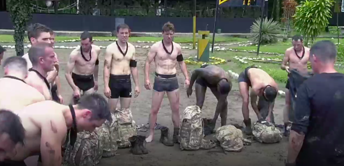 SAS Who Dares Wins strip