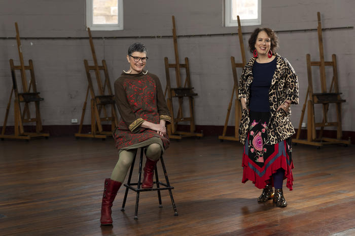 Life Drawing Live, Maryanne Coutts and Wendy Sharpe