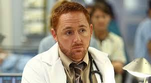 Scott Grimes in ER, hoping that one day he'll get to star in a comedy...