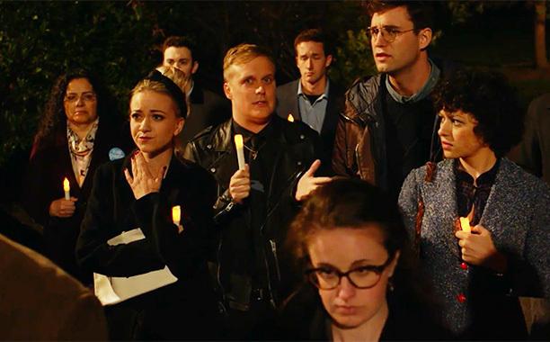 Search Party vigil