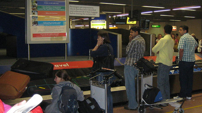 Airport baggage carousel, The Secret Life of the Airport, baggage claim