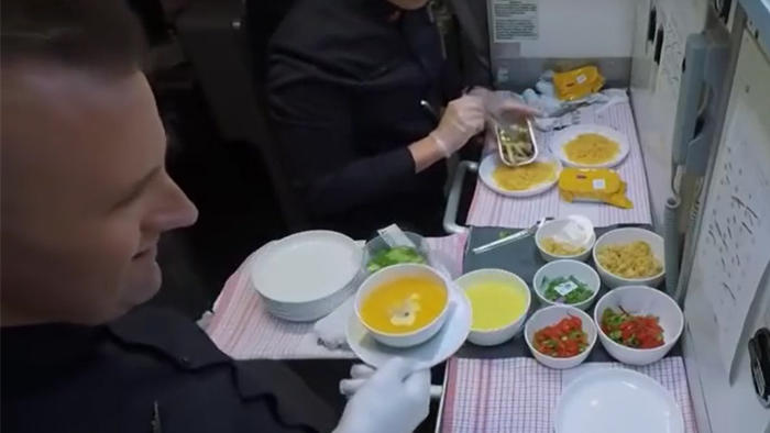 The biggest bullying victim on Earth – airline food.