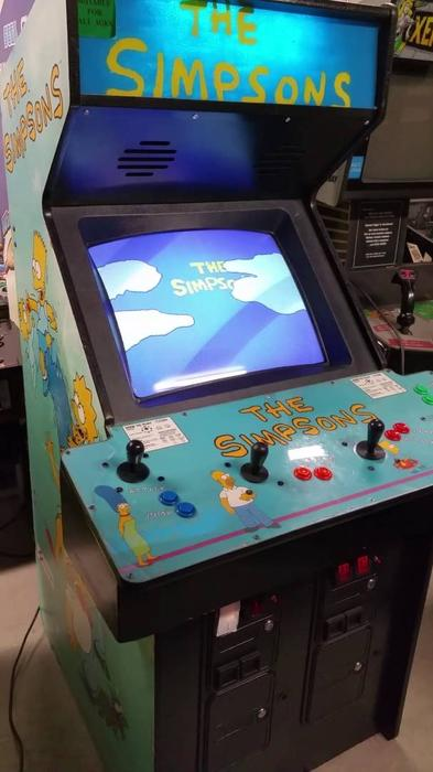 The Simpsons Arcade Game