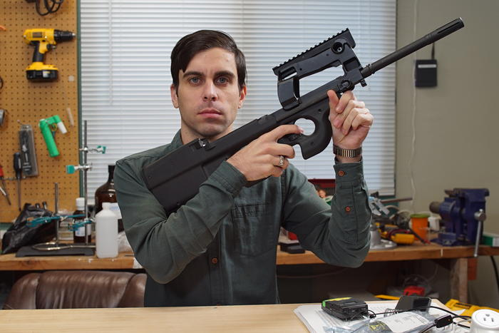 Motherboard smart gun