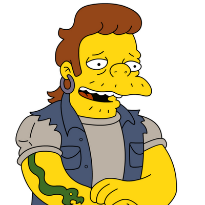 snake simpsons