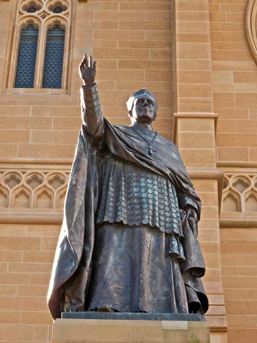 Cardinal Patrick Francis Moran statue