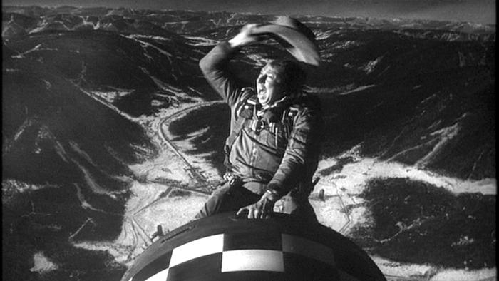 Slim Pickens, Dr. Strangelove or: How I Learned to Stop Worrying and Love the Bomb