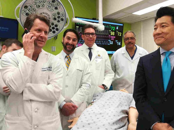 John Hopkins medical team, penis scrotum transplant surgeons