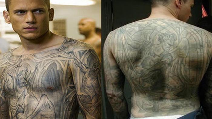 prison break tattoos