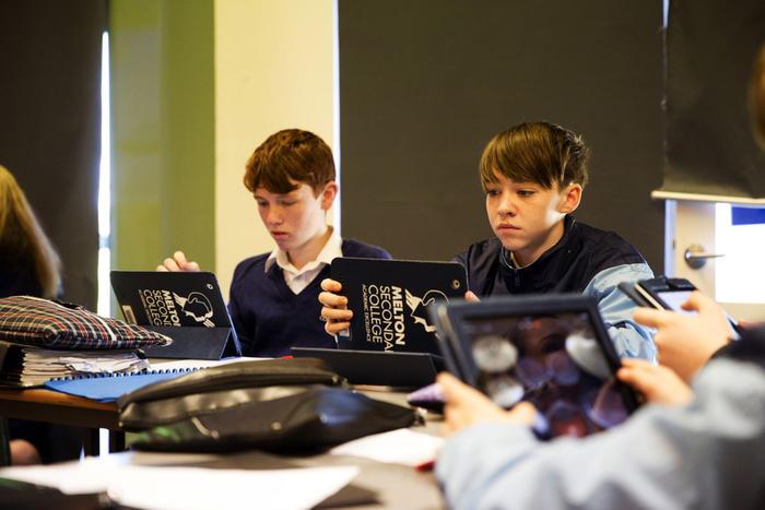 Testing Teachers - iPads