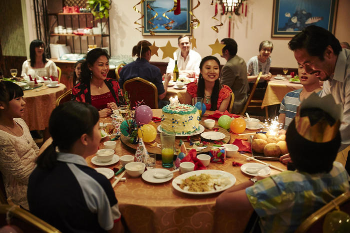 The Family Law dinner