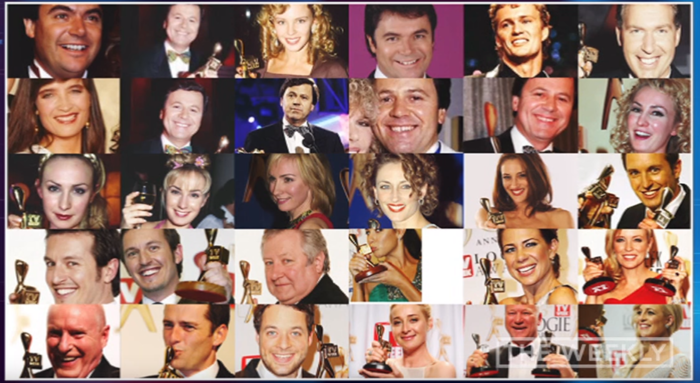 List of the past 30 Gold Logie winners