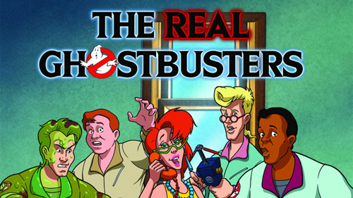 the real ghostbusters tv series