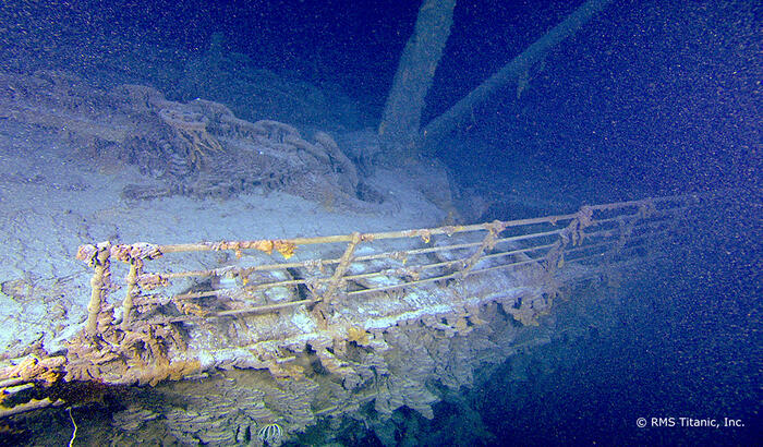 From Titanic: Into the Heart of the Wreck