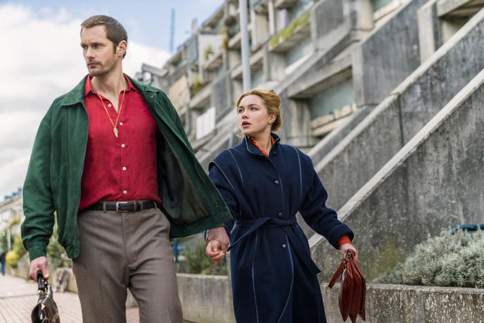 The Little Drummer Girl - season 1, Alexander Skarsgård, Florence Pugh