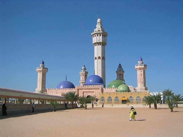 The Great Mosque of Touba, Senegal