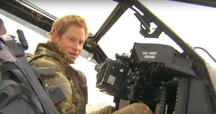Prince Harry tour of duty