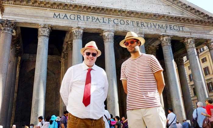 Travel Man Rome Matt Lucas