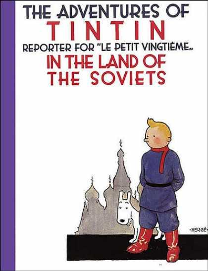 Tintin and the Land of the Soviets