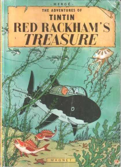Tintin Red Rakham's Treasure