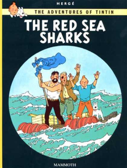 Tintin The Red Sea Sharks