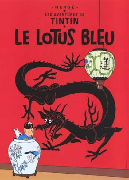 Tintin The Blue Lotus