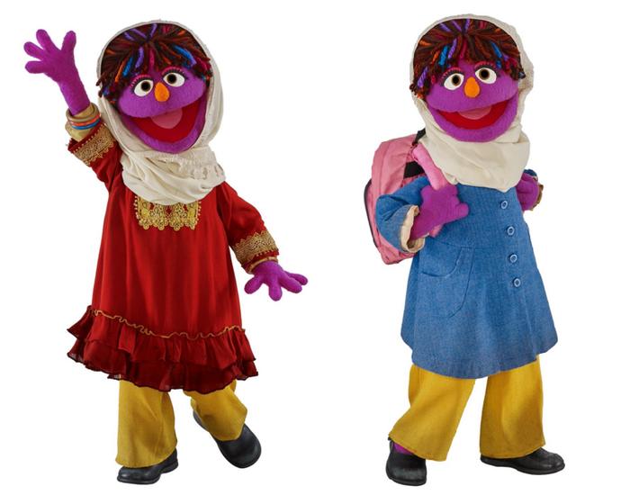 Meet Sesame Street's first Afghan character Zari