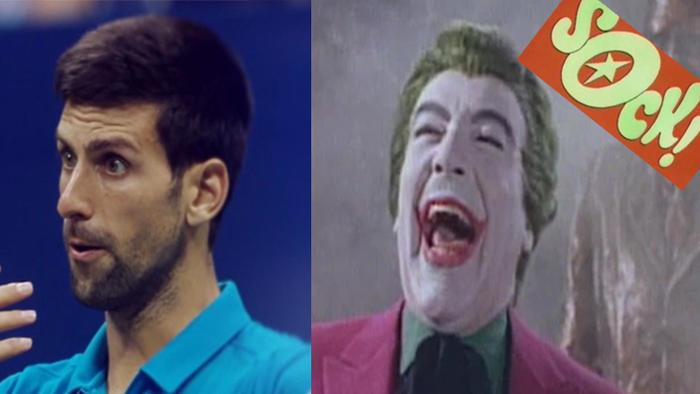 Novak Djokovic The Joker