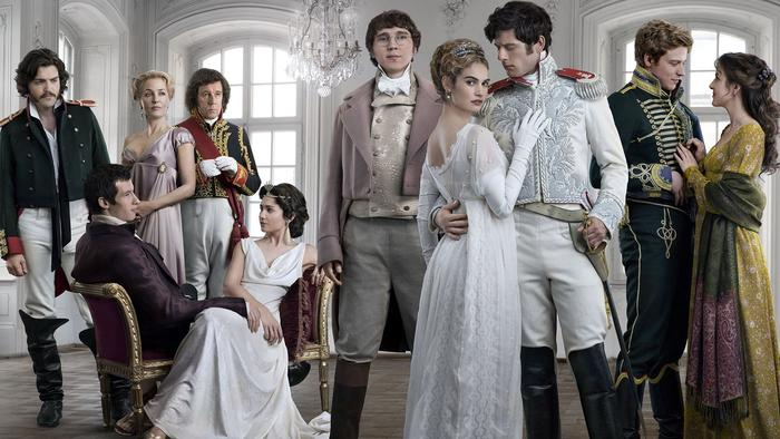 war and peace show cast