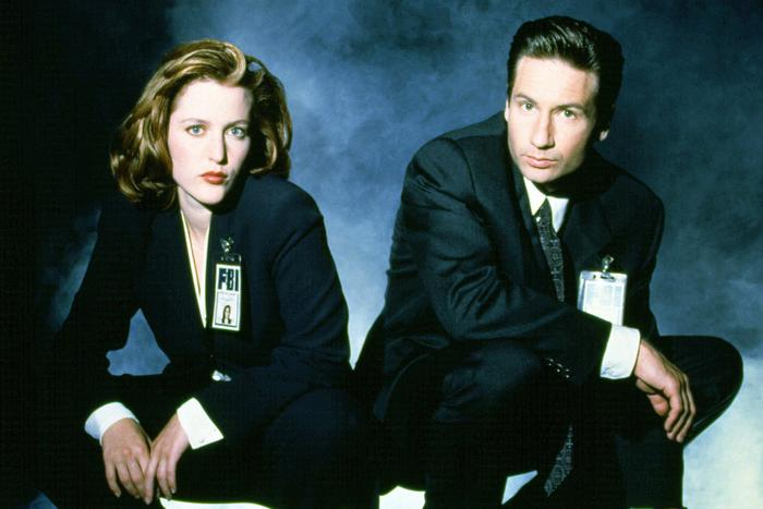 Mulder Scully X Files