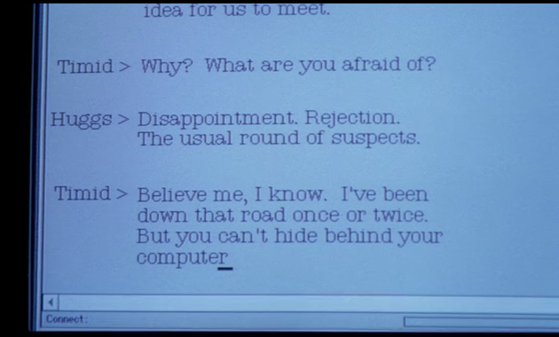 The X-Files chat room