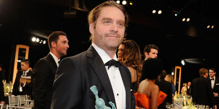 Zach Galifianakis now seen as a hearthrob after losing hair and weight.