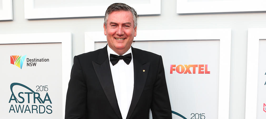 Eddie Maguire arrives at the 2015 ASTRA Awards at the Star in Sydney, Thursday, March 12, 2015. (AAP Image/Gaye Gerard) NO ARCHIVING, EDITORIAL USE ONLY