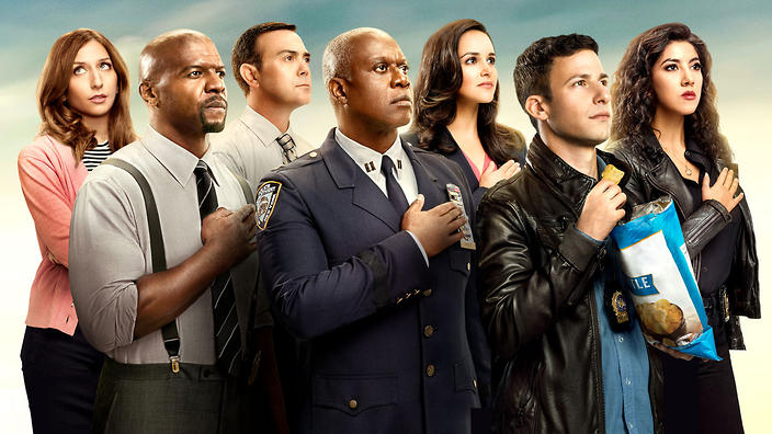 Celebrate A Milestone For The Beloved Cop Comedy Sbsau Guide Article 2017 12 06 99 Reasons Watch 99th Episode Brooklyn Nine