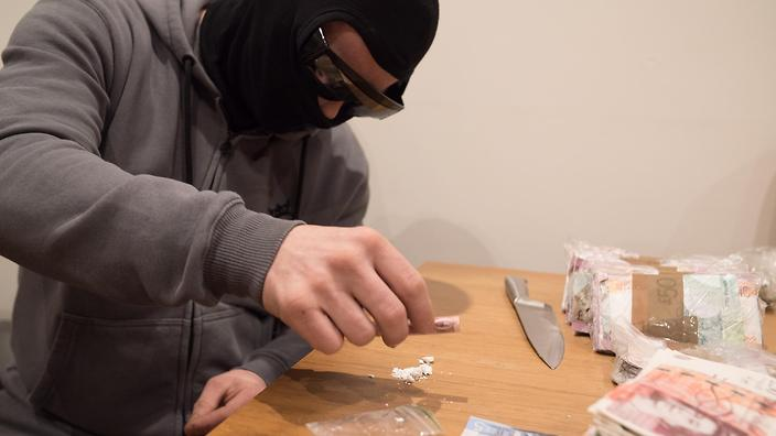 It's the documentary series about cocaine that shows the dark side