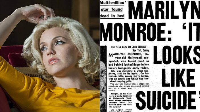 Who was marilyn monroe dating when she died