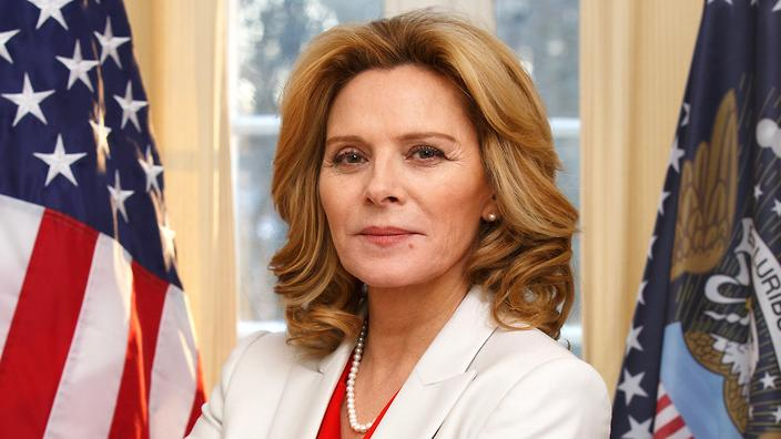 Kim Cattrall In Modus Is The American President We Need