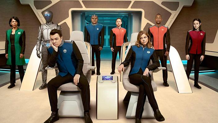 The Orville is blasting off at SBS VICELAND