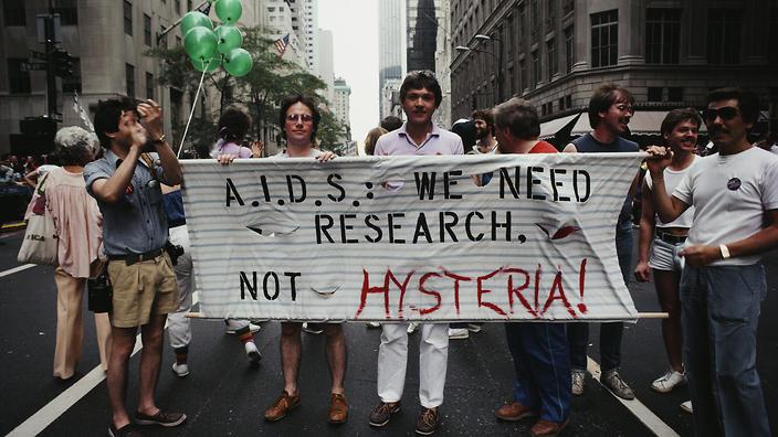The AIDS Hysteria Of 1980s A Newspaper Headline In 1981 Heralded Dawn HIV Epidemic