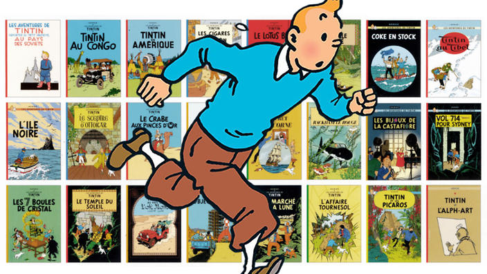 All 24 Book Covers Of The Adventures Tintin Ranked You Spent Best Part Your Life Borrowing Out These Books At Library Staring