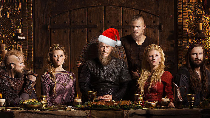 vikings spreads christmas cheer with a new episode on sbs on demand ahead of the return of vikings to sbs the first episode of the season 4 mid season - Viking Christmas