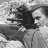 Sniper Lyudmila Pavlichenko (1916-1974). Artist: Anonymous