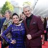 Myf Warhurst and Joel Creasey