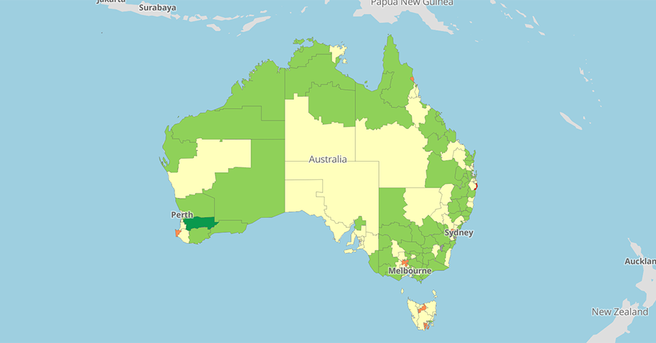 Young Australia Map.Young Australia Map Kameroperafestival