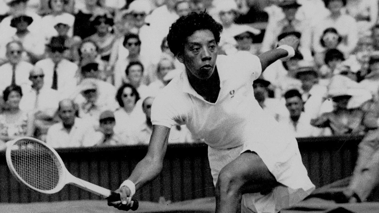 biography ashe gibson Arthur ashe stadium althea gibson 1927-2003 althea gibson's athletic prowess led to her recognition as an outstanding professional tennis player.