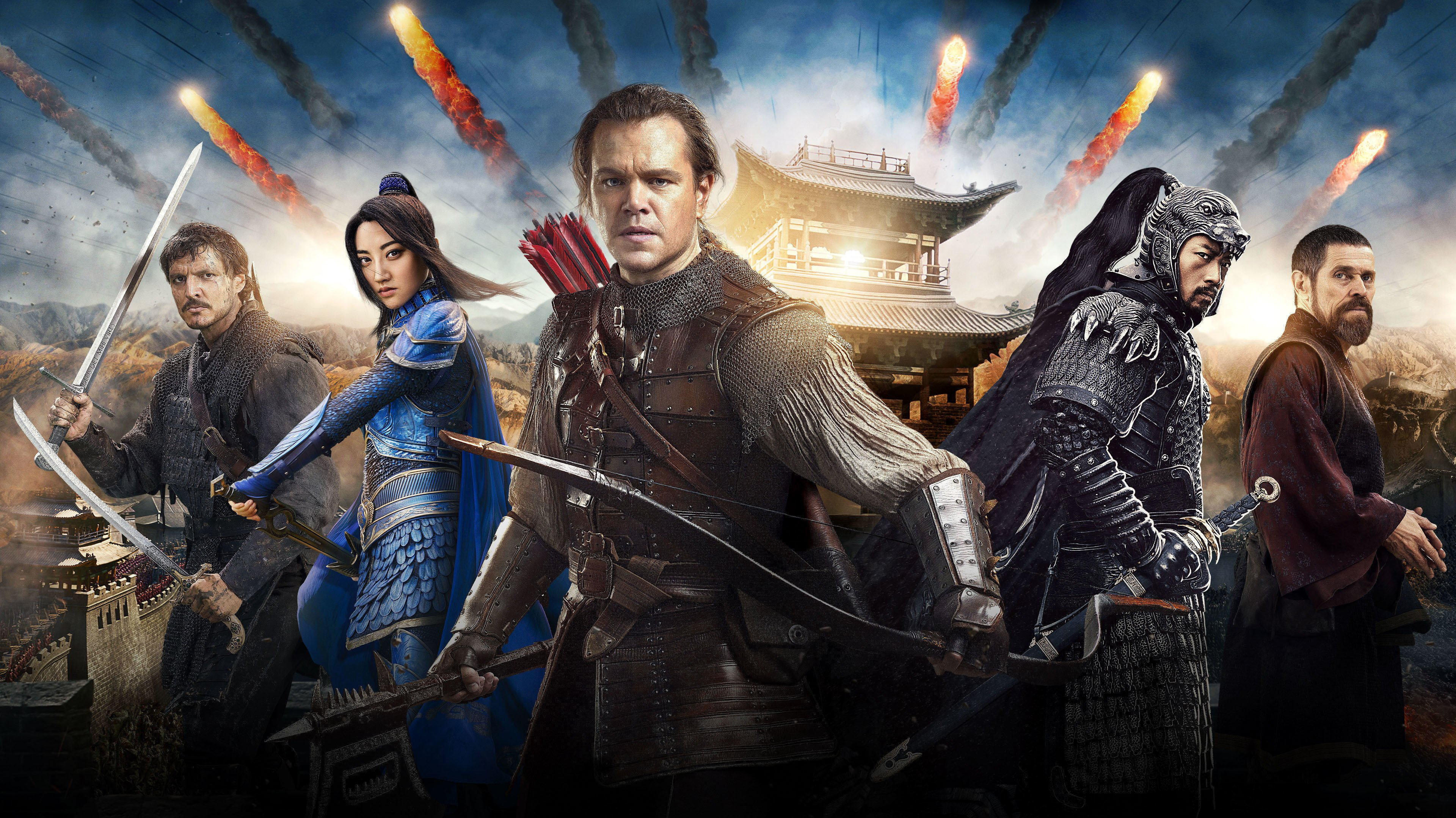 The Great Wall review: Matt Damon is just another brick in The ...