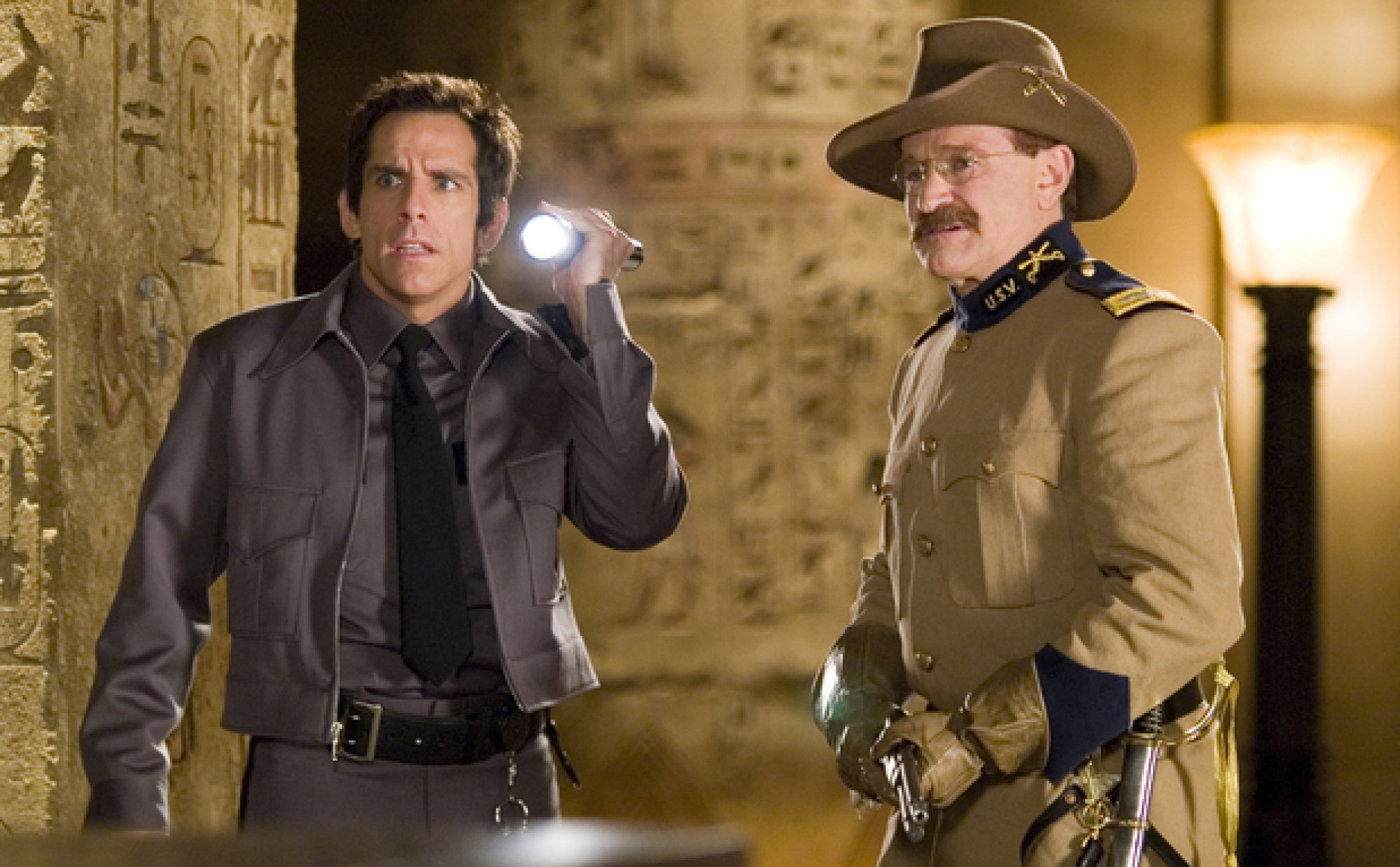 spoilsport: robin williams lends night at the museum: secret of the