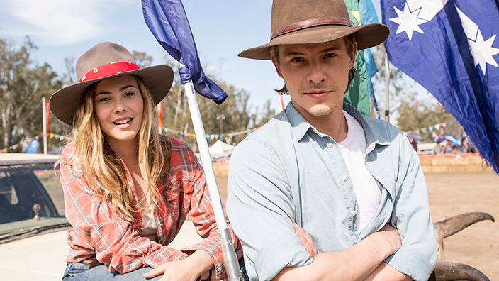 Spin Out Review Outback Rom Com Plays It Safe Sbs Movies